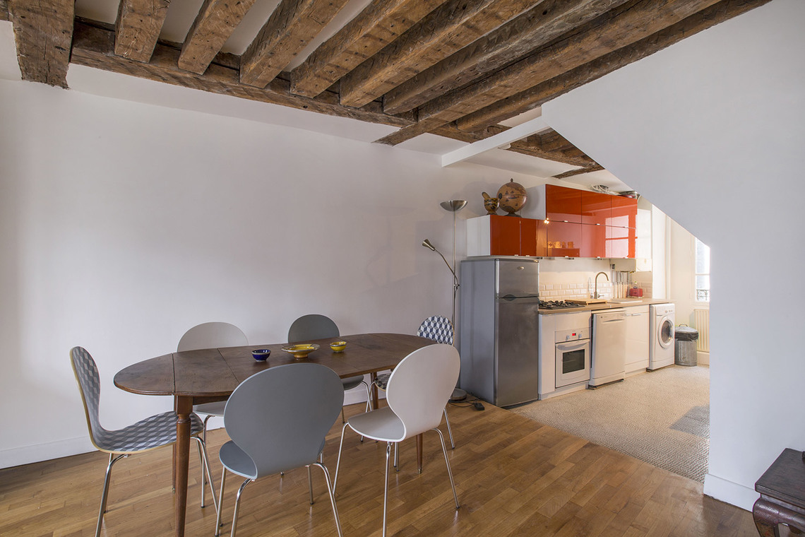 Appartement Paris Rue des Bourdonnais 6