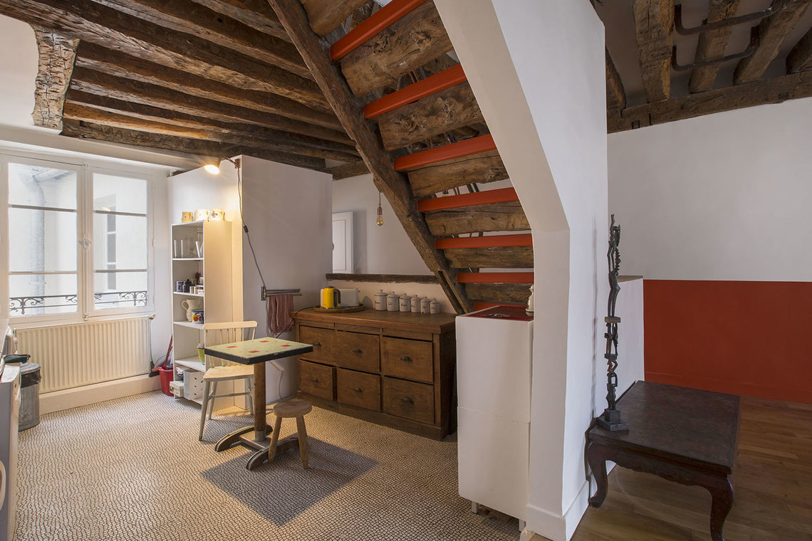 Appartement Paris Rue des Bourdonnais 7