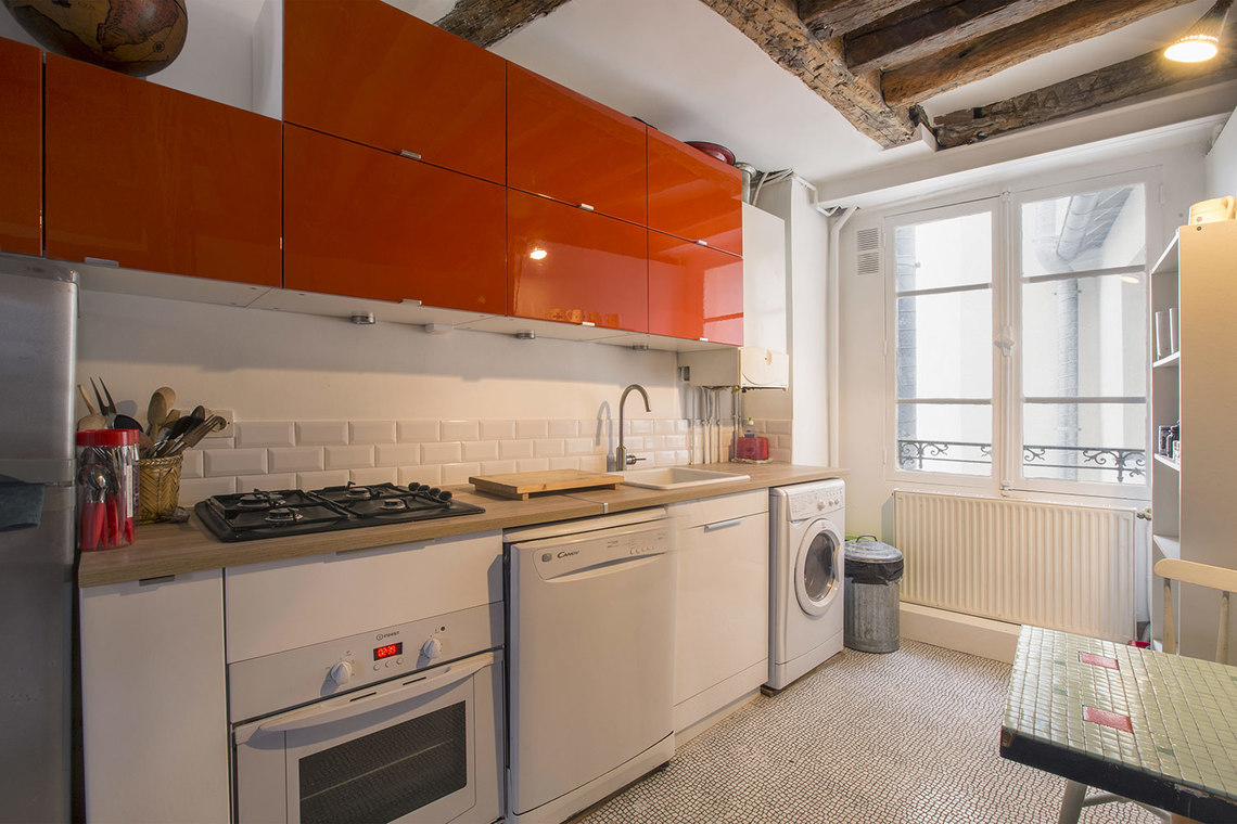 Appartement Paris Rue des Bourdonnais 8