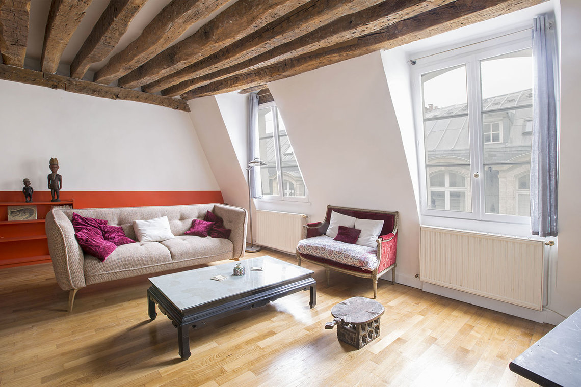 Appartement Paris Rue des Bourdonnais 2