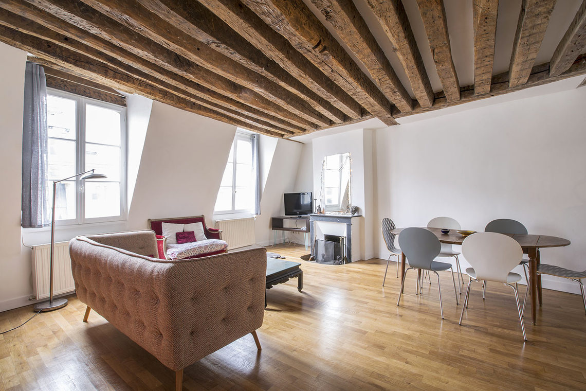 Appartement Paris Rue des Bourdonnais 3