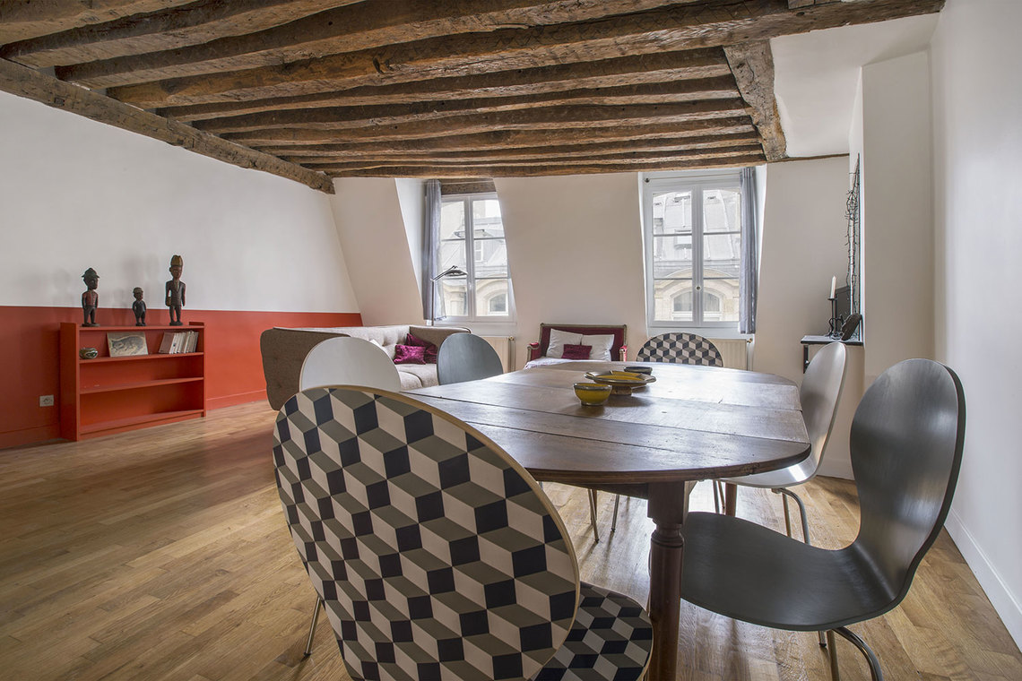 Appartement Paris Rue des Bourdonnais 5