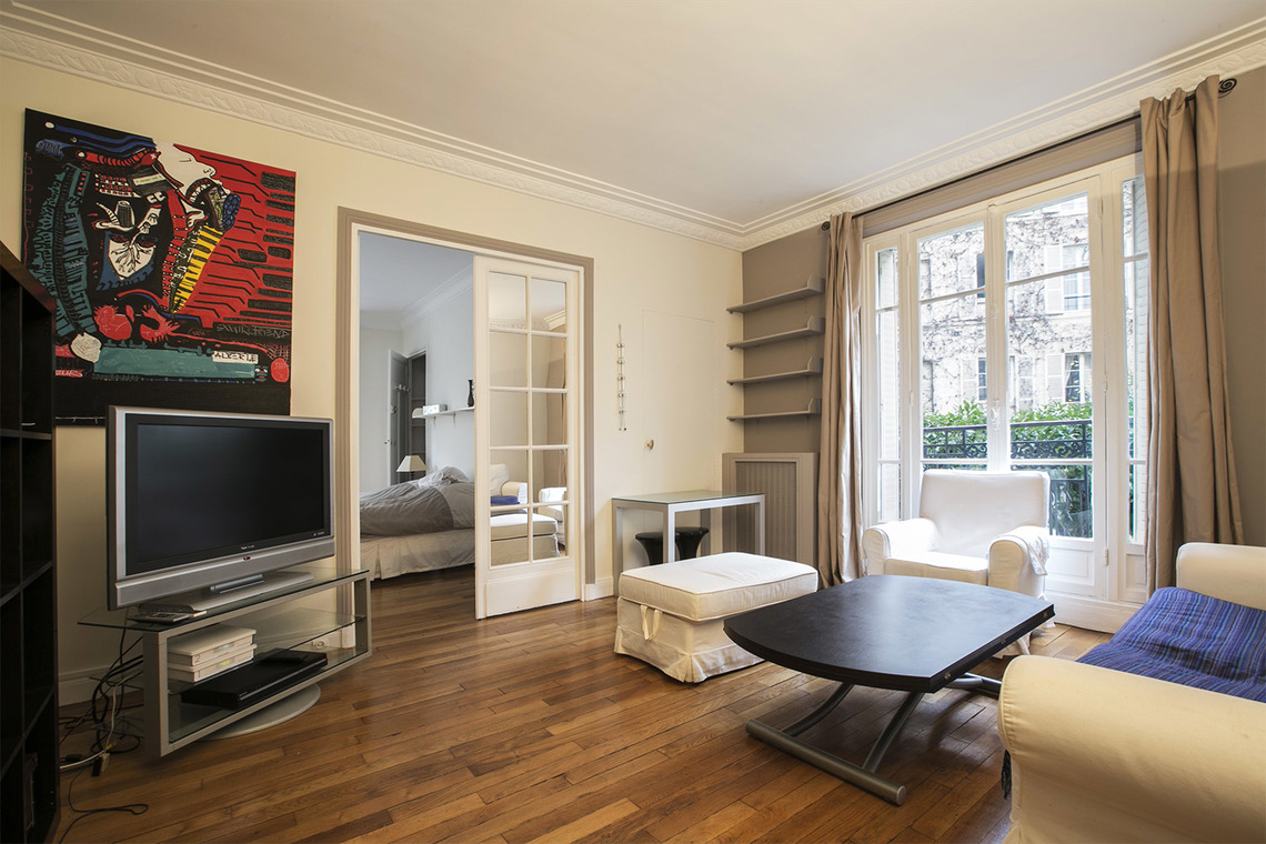 Furnished apartment for rent Paris Rue Jean Bart
