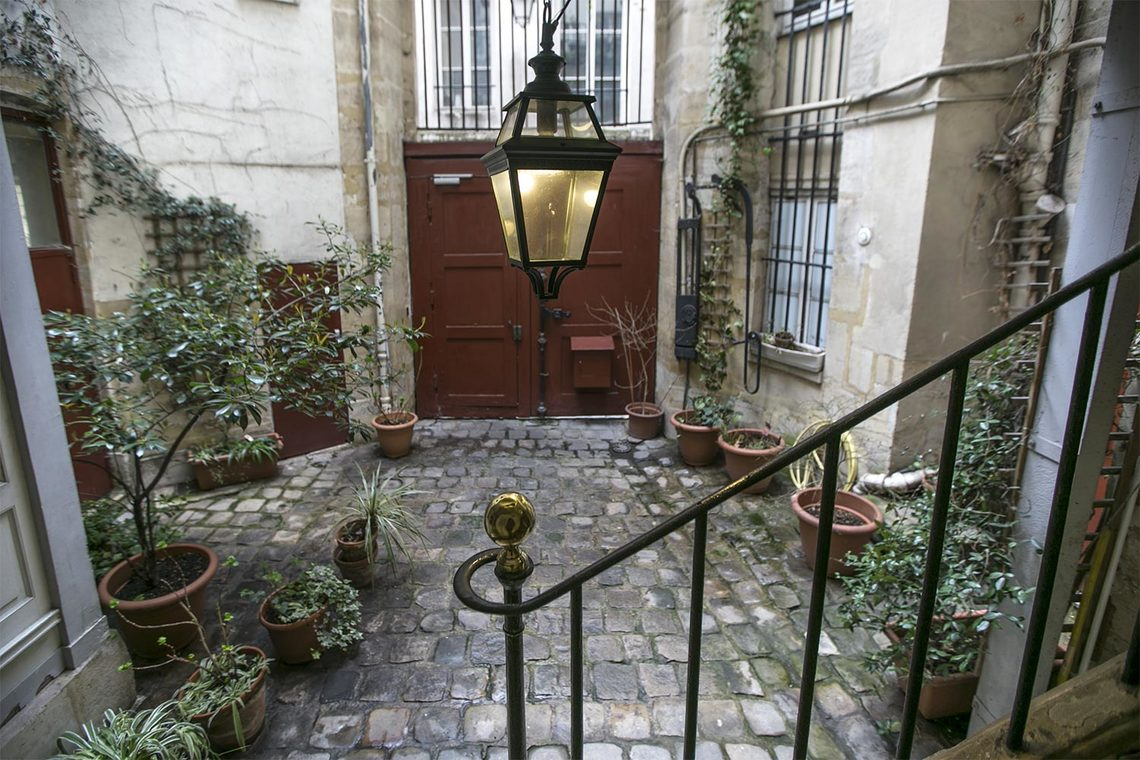Appartement Paris Rue Saint Bon 14