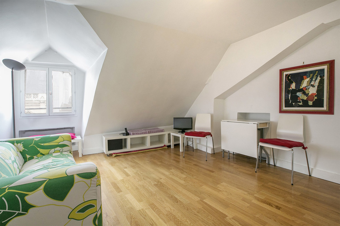 Paris Rue Saint Bon Apartment for rent