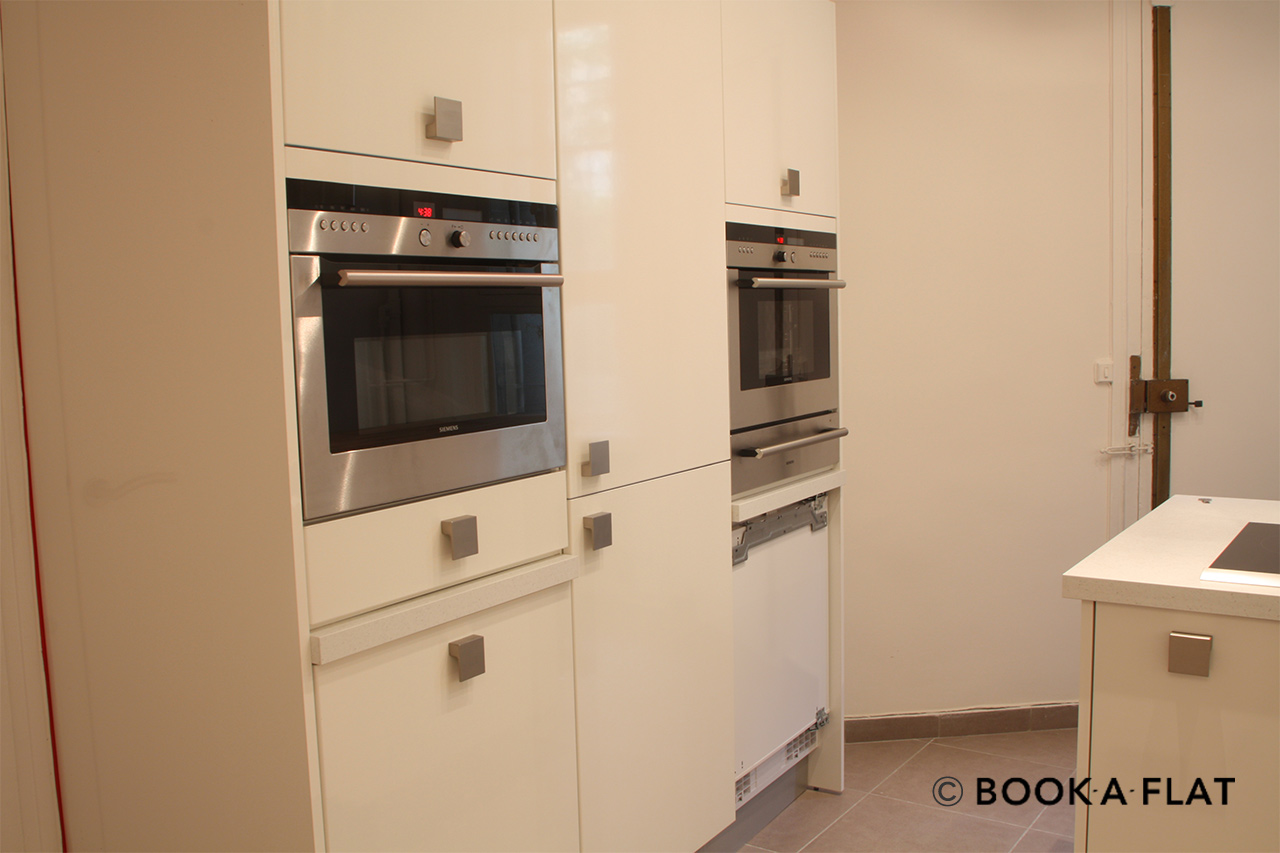 Kitchen with cupboards