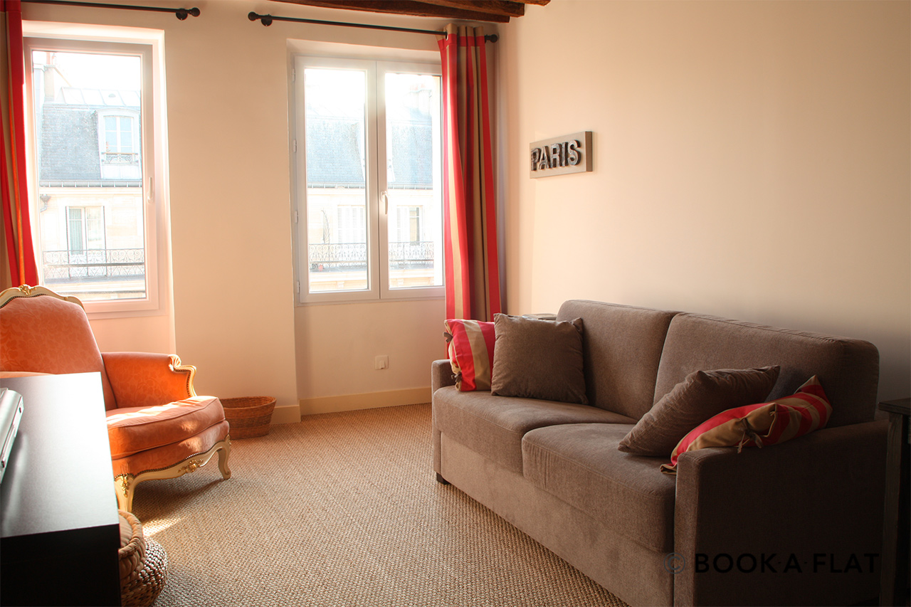 Furnished apartment for rent Paris Rue Réaumur