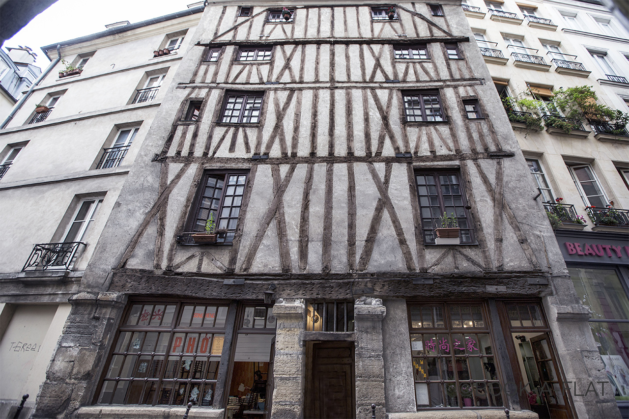 One of the oldest building of Paris