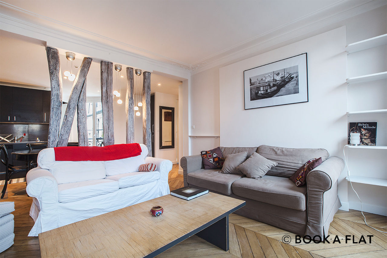 Appartement Paris Rue Lemercier 2