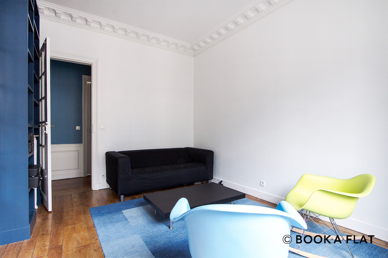 Location appartement meubl rue duhesme paris ref 10046 for Location appartement non meuble paris