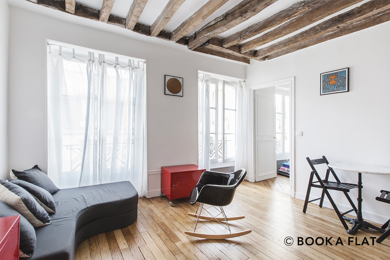 Paris Rue Ternaux Apartment for rent
