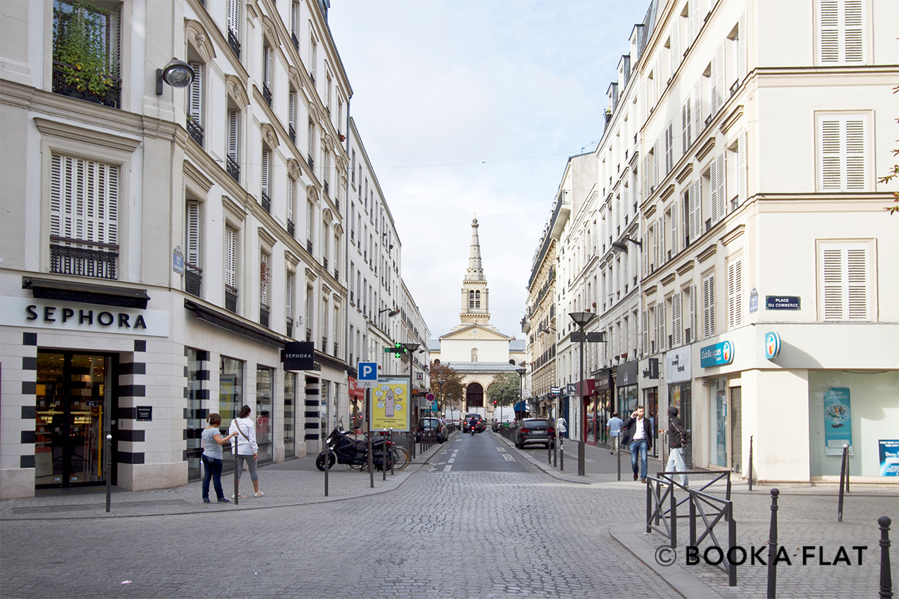 Appartement Paris Rue de Lourmel 12