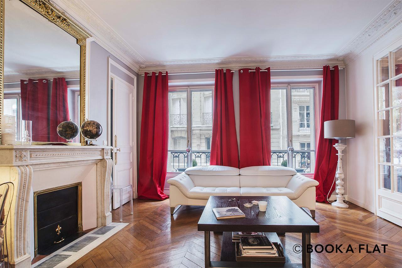 location appartement meubl rue d 39 auteuil paris ref 10165. Black Bedroom Furniture Sets. Home Design Ideas