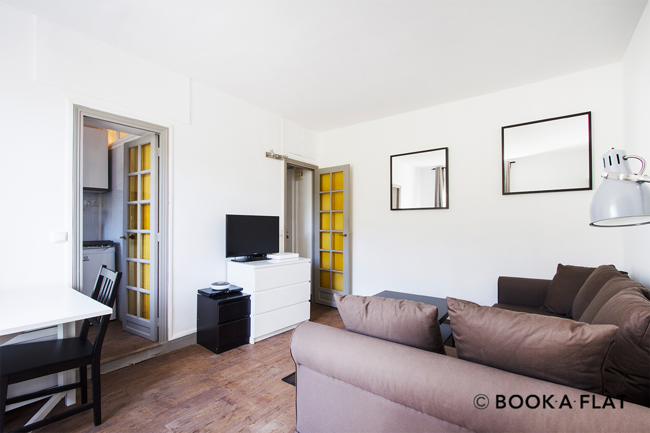 Furnished apartment for rent Paris Avenue de Breteuil
