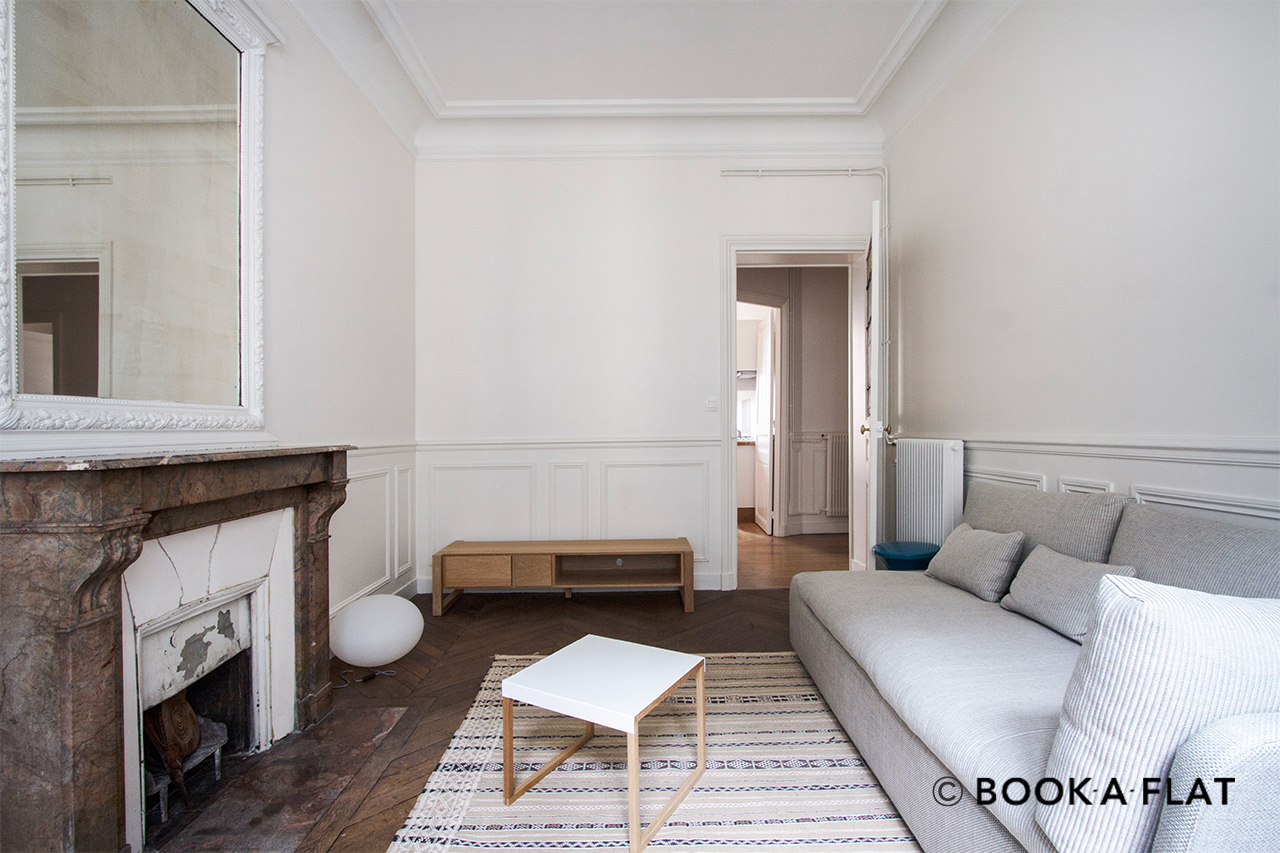 Furnished apartment for rent Paris Rue Caulaincourt