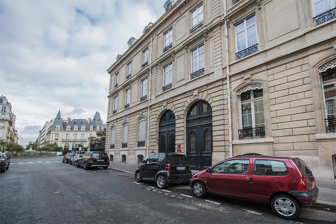 Appartement Paris Rue Jean Goujon 8