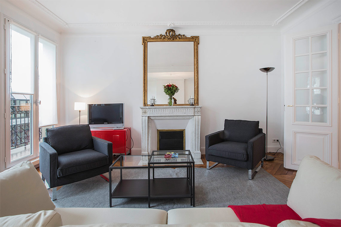 Apartment Paris Rue du Montparnasse 3