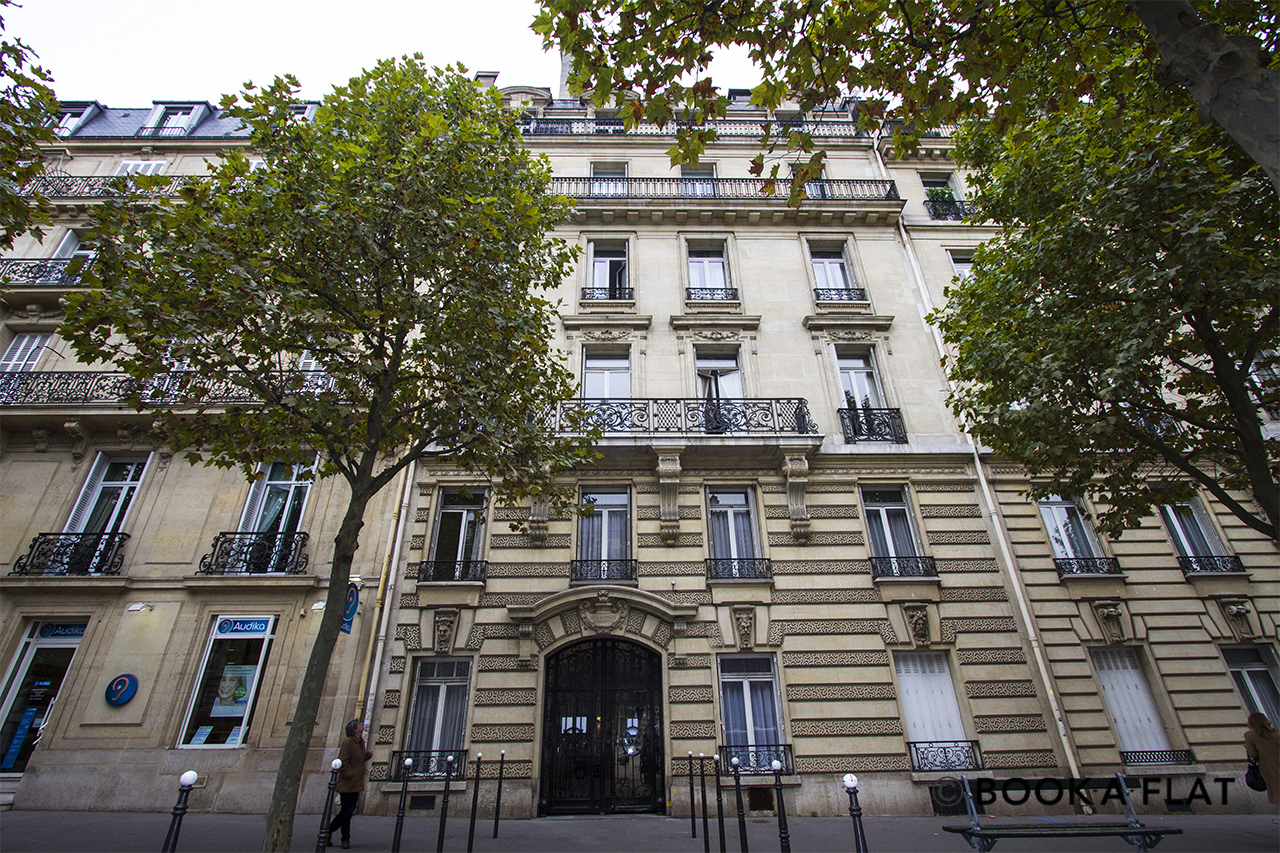 Appartement Paris Avenue de Friedland 12