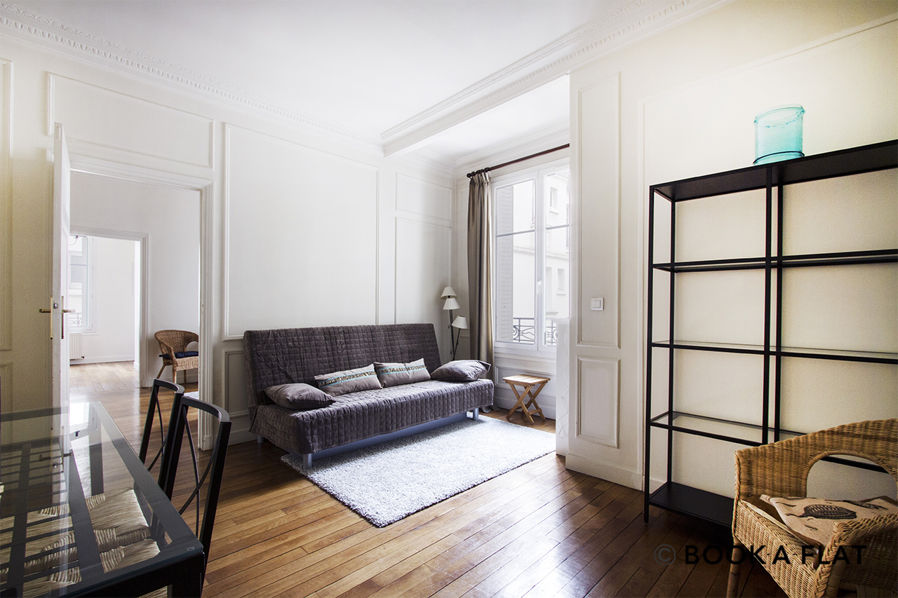 Furnished apartment for rent Paris Square de l'Alboni