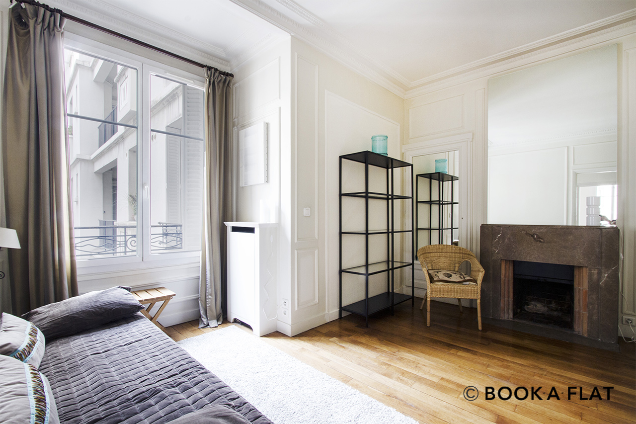 Paris Square de l'Alboni Apartment for rent