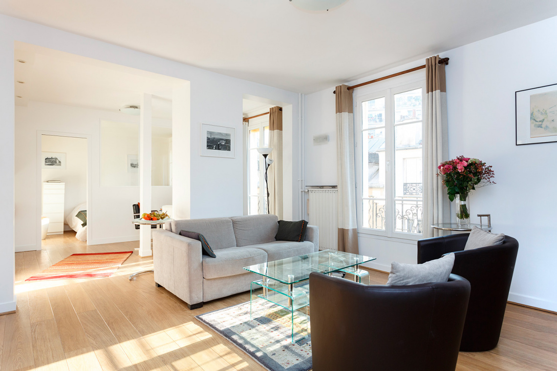 Furnished apartment for rent Paris Rue Lakanal