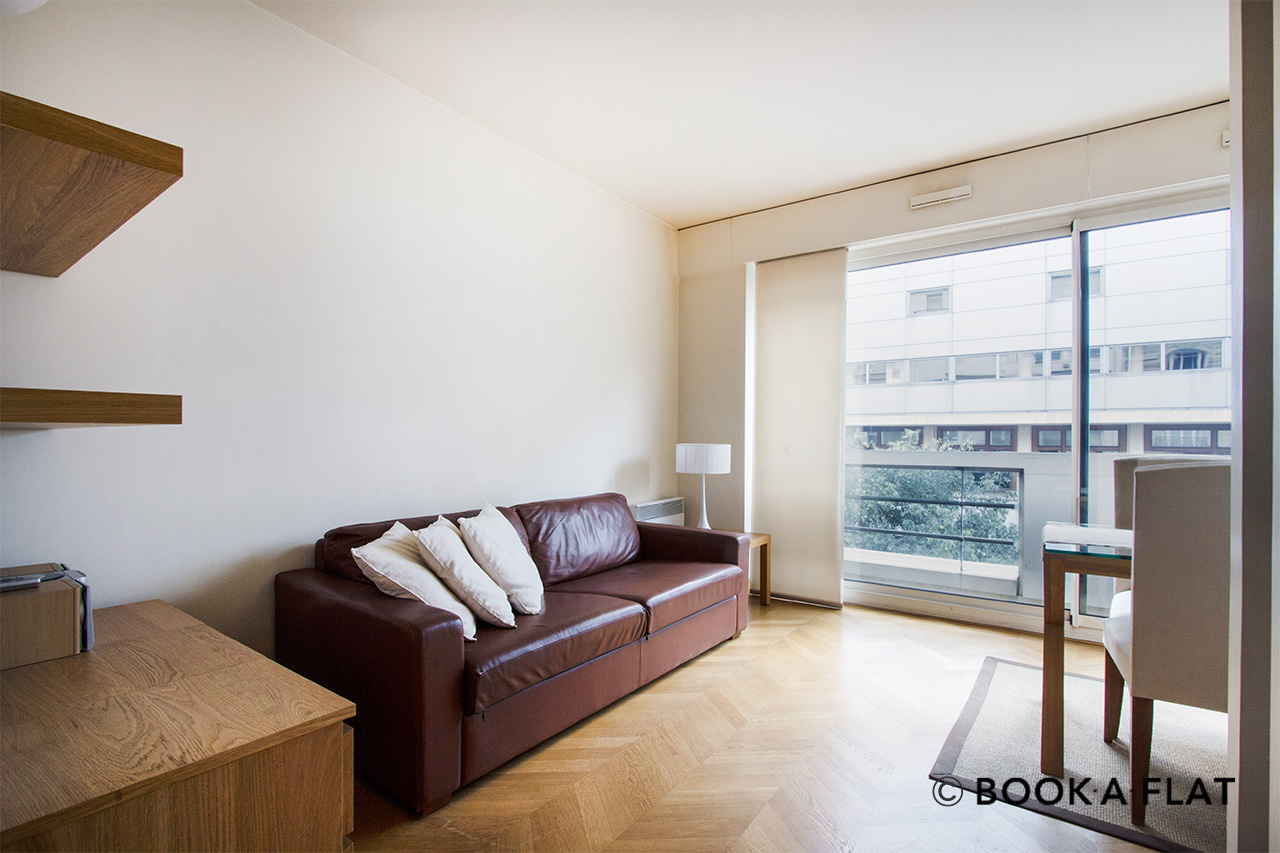 Furnished apartment for rent Paris Rue Benjamin Franklin