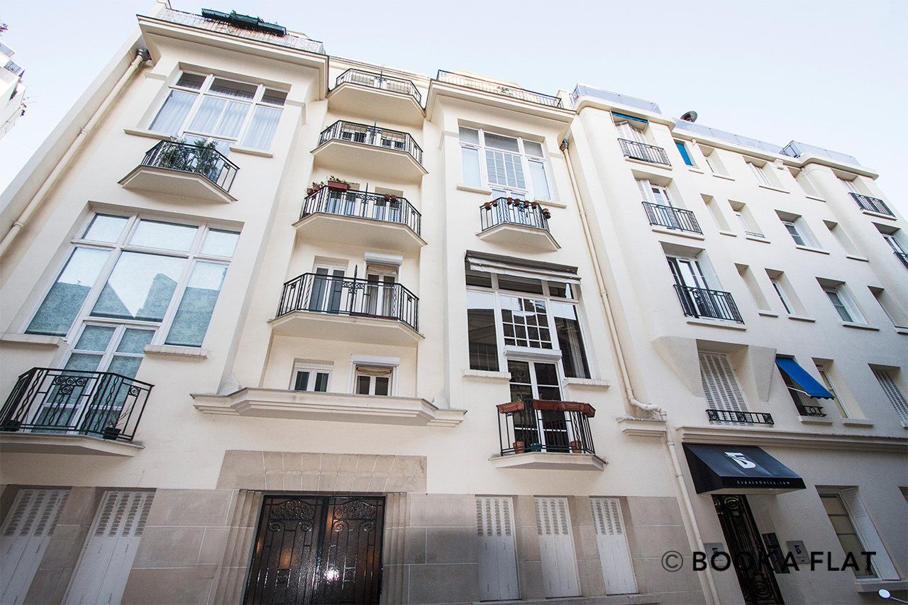 Appartement Paris Passage Doisy 14