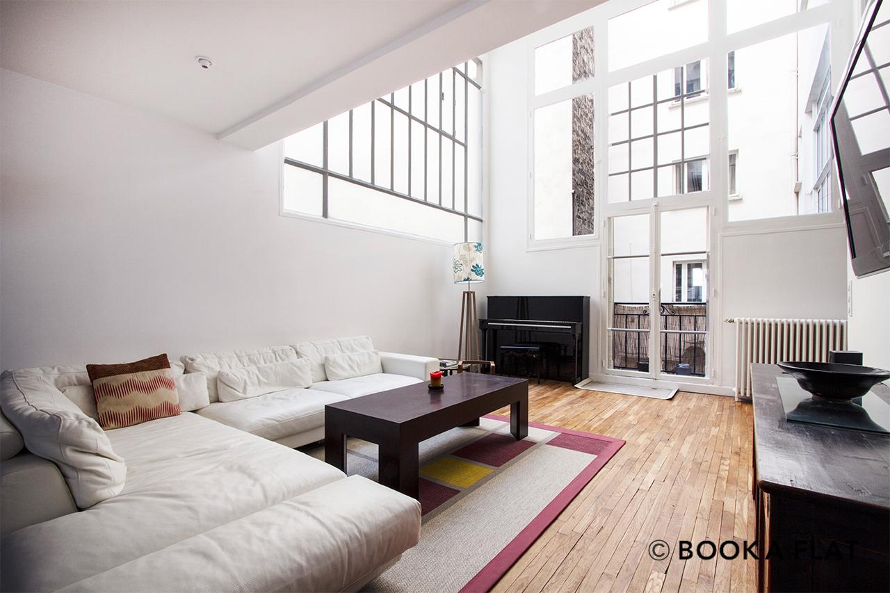 Location appartement meubl passage doisy paris ref 10256 - Location appartement paris meuble ...