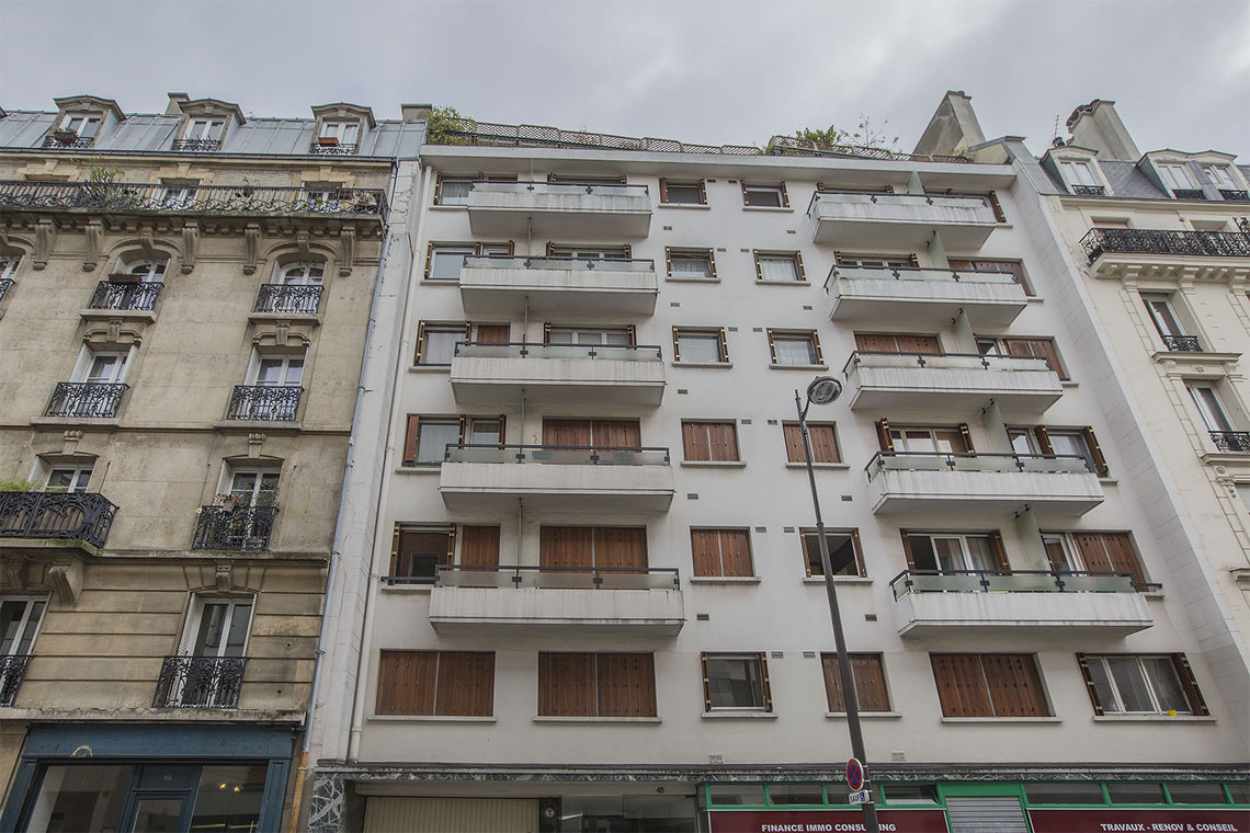 Квартира Paris Rue Servan 12