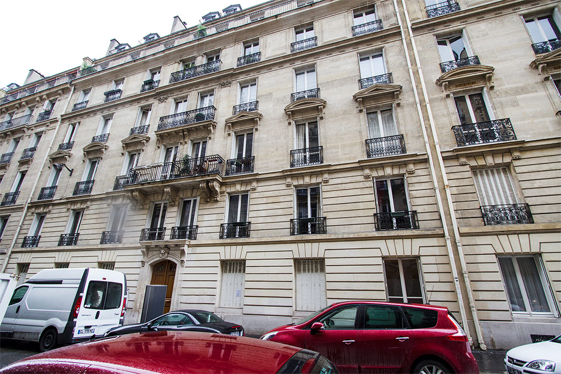 Квартира Paris Rue Faraday 12