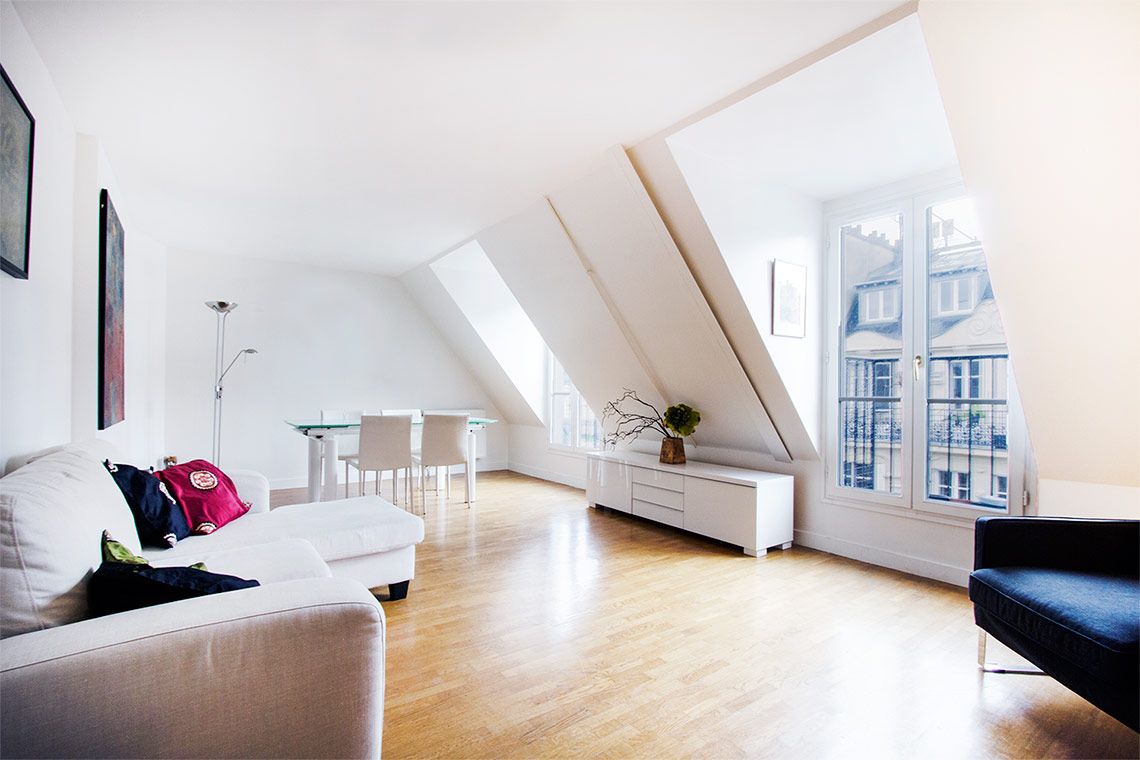 Furnished apartment for rent Paris Rue Faraday