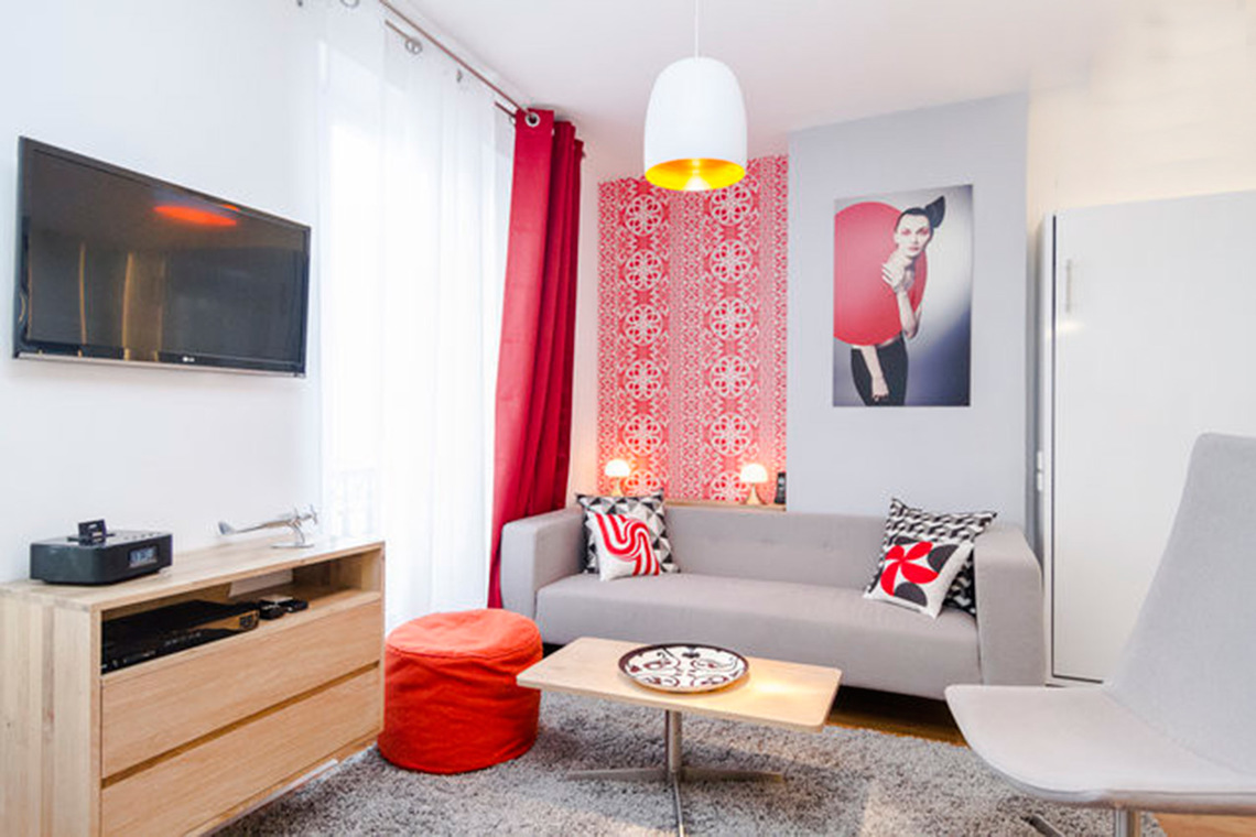 Furnished apartment for rent Paris Rue des Entrepreneurs