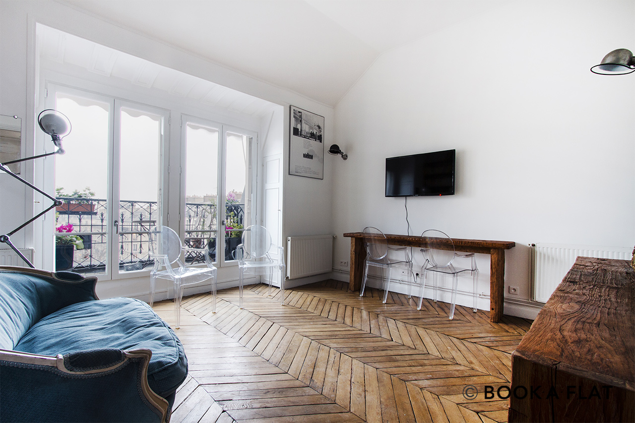 Furnished apartment for rent Paris Rue Jean de Beauvais