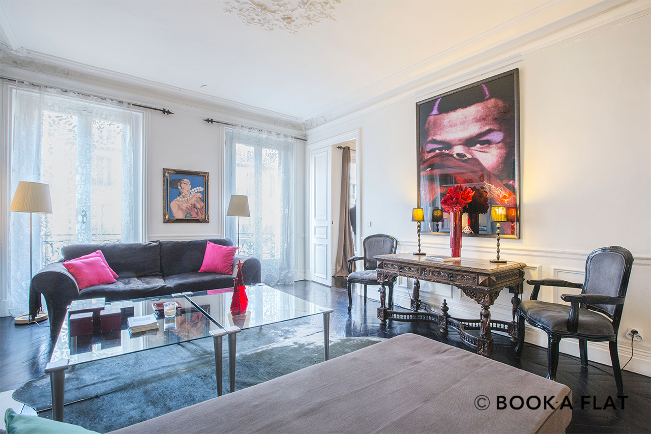 Furnished apartment for rent Paris Rue du Temple
