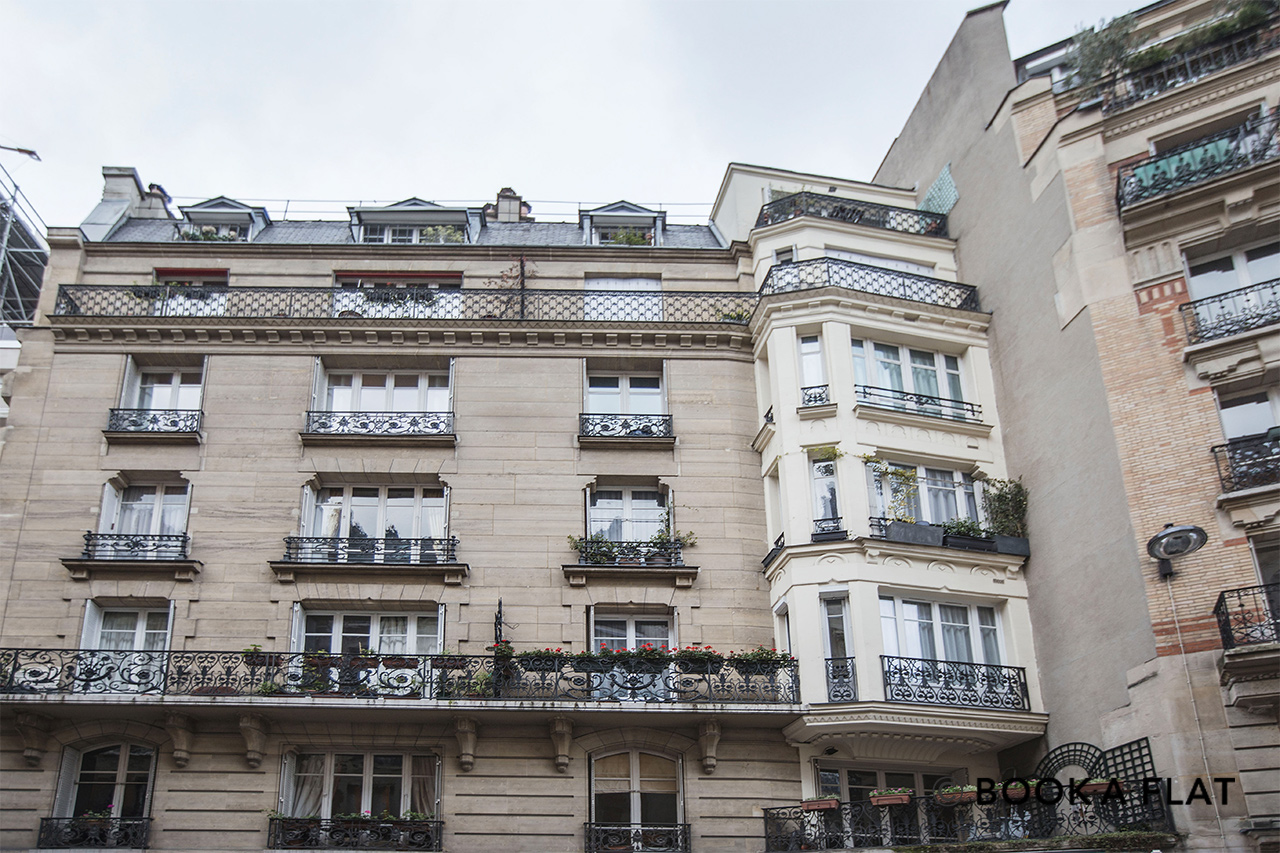 Квартира Paris Rue Jean de la Fontaine 17