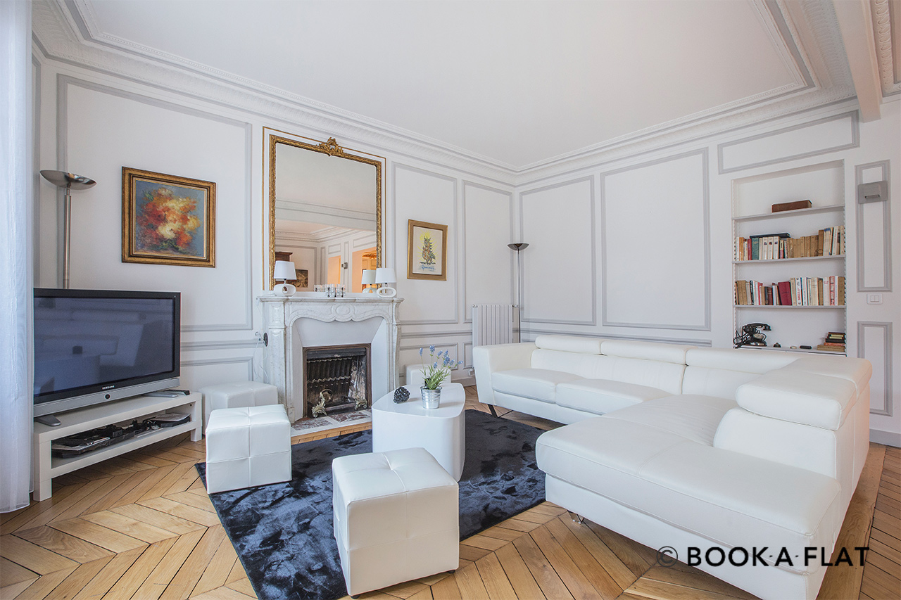 Furnished apartment for rent Paris Rue Jean de la Fontaine