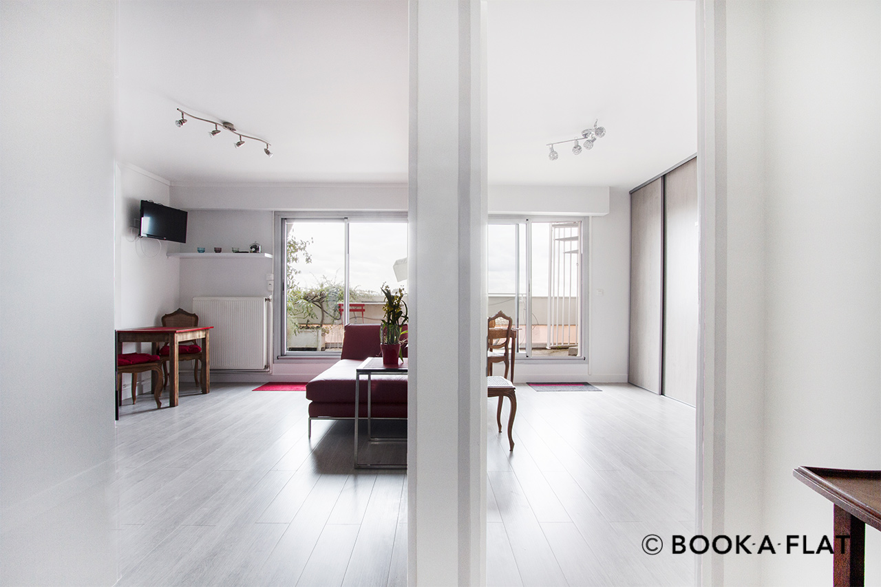 Appartement Paris Rue des Cottages 3
