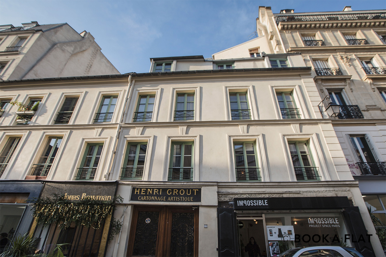 Квартира Paris Rue Charlot 12