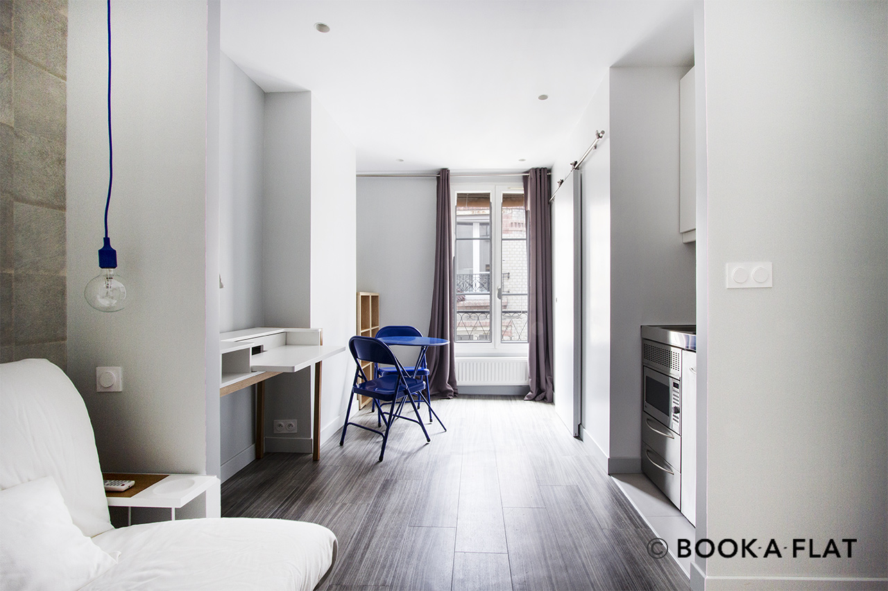 Paris Rue André Antoine Apartment for rent
