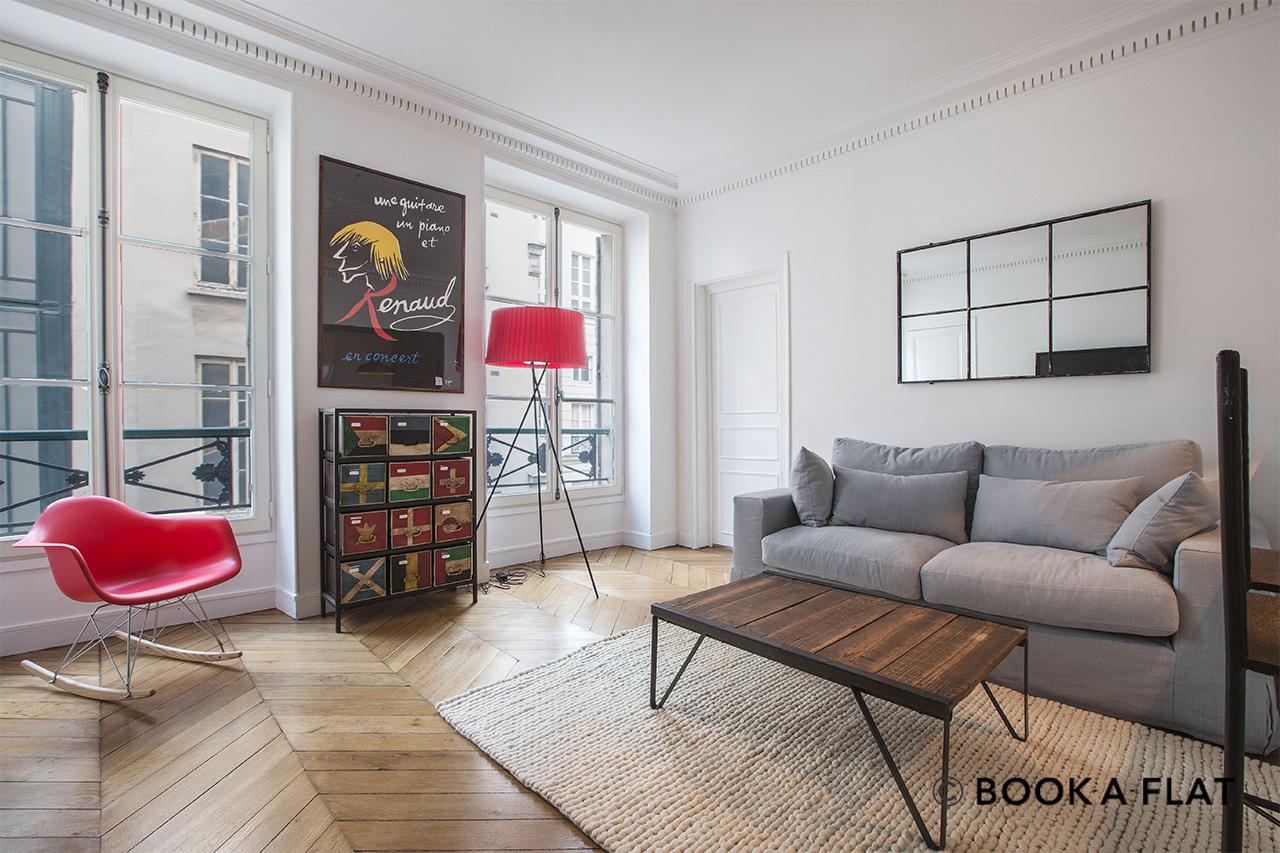 Location appartement meublé Rue d\'Alger, Paris | Ref 10351