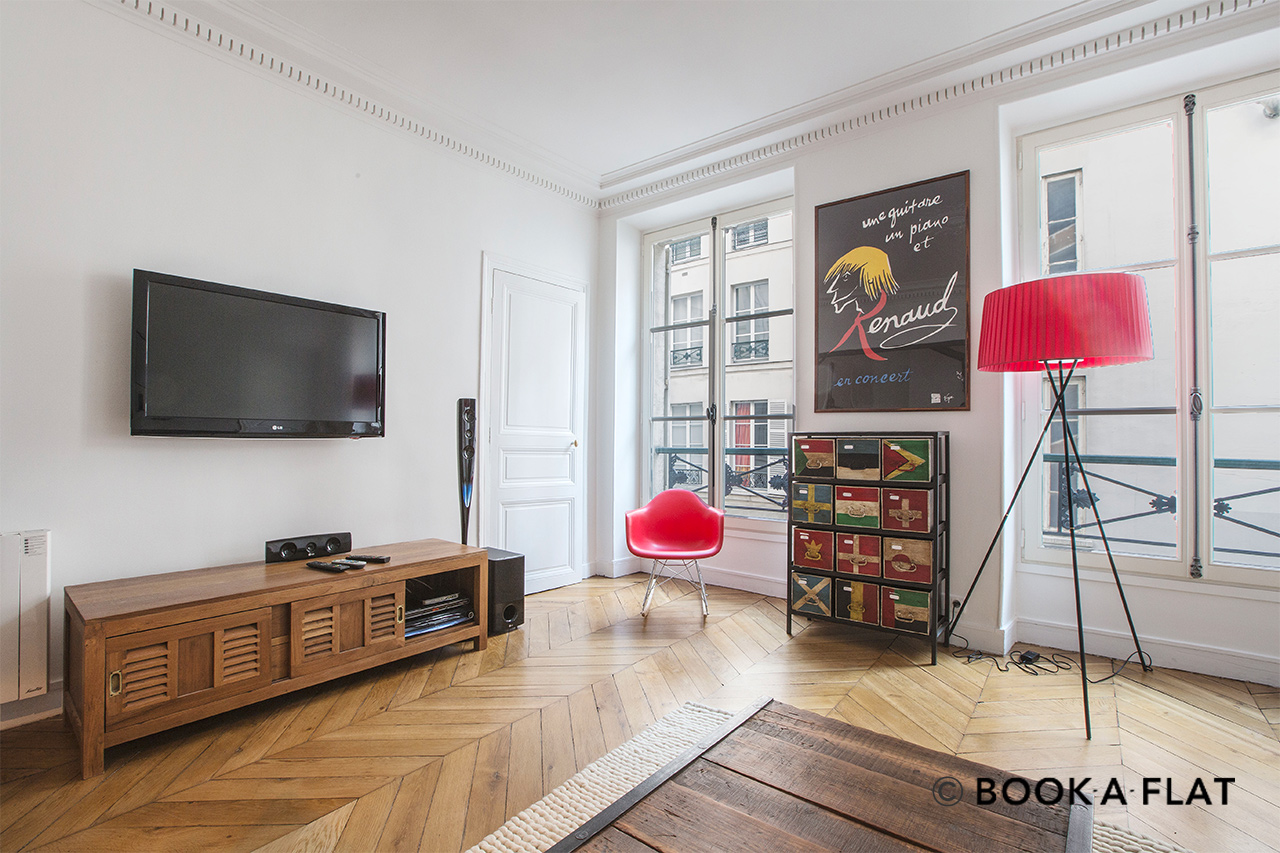 Appartement Paris Rue d'Alger 4