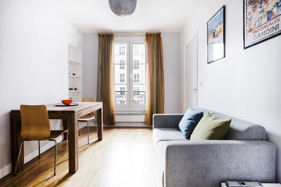 Paris Rue Castex Apartment for rent