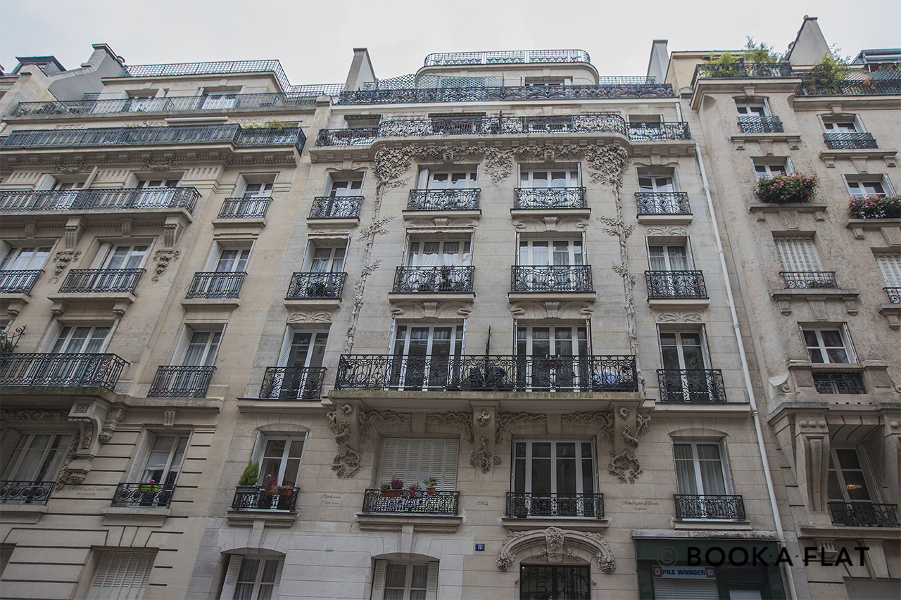 Appartement Paris Rue Auguste Bartholdi 14