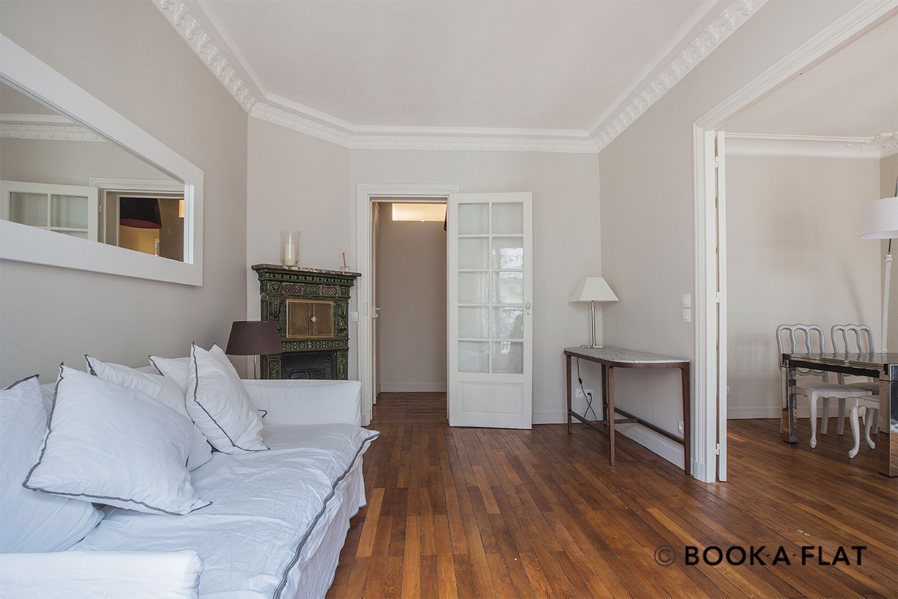 Furnished apartment for rent Paris Rue Auguste Bartholdi