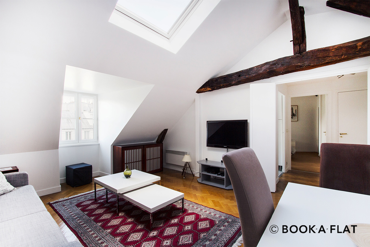 Paris Rue Vignon Apartment for rent