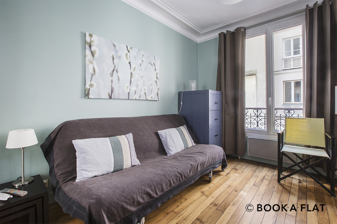 Furnished apartment for rent Paris Rue Charles Divry