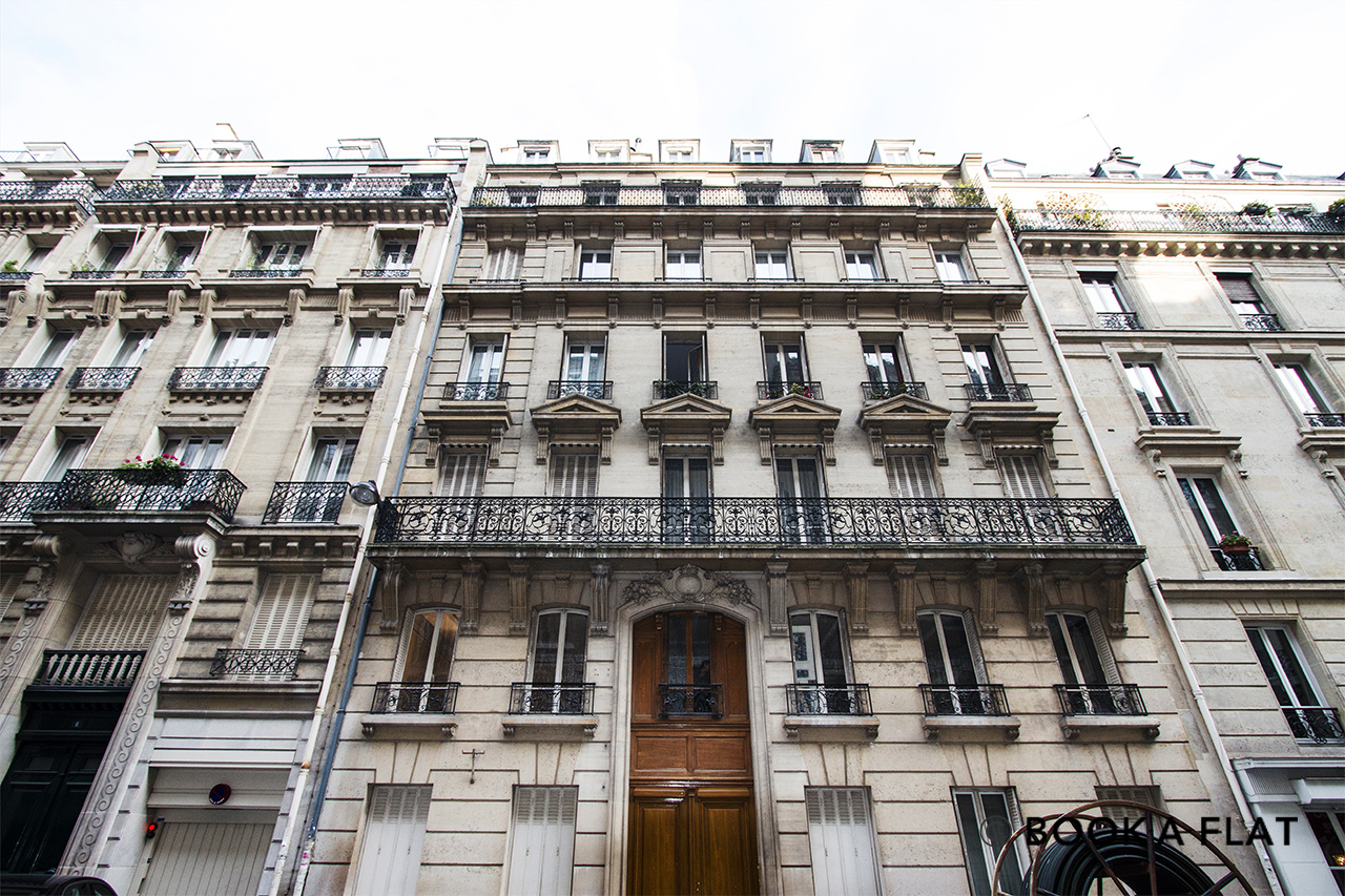 Квартира Paris Rue Lalo 11