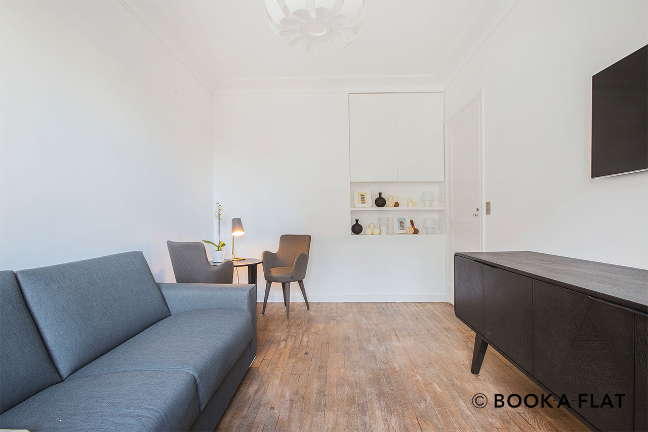 Appartement Paris Avenue Hoche 4