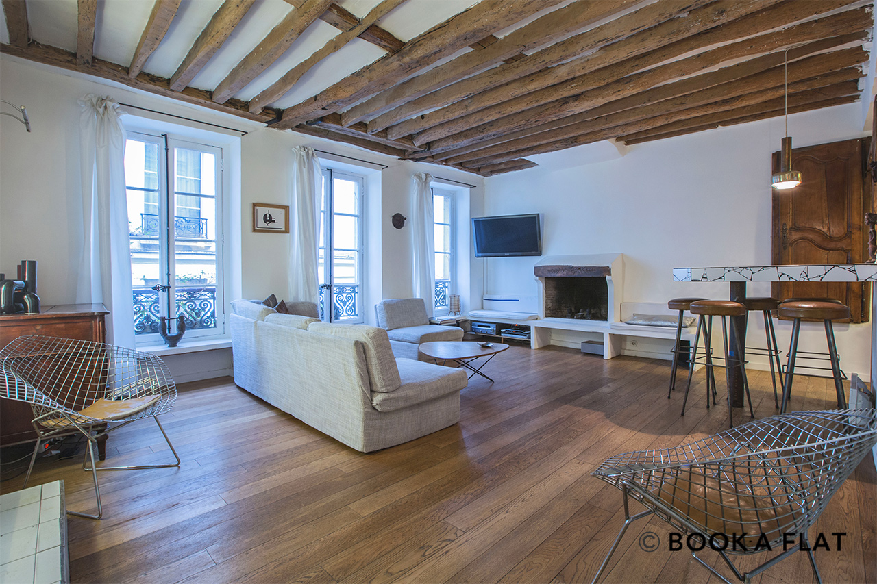 Furnished apartment for rent Paris Rue Tiquetonne