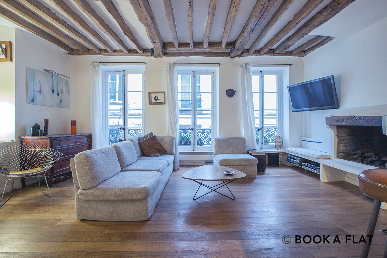 Apartment Paris Rue Tiquetonne 2